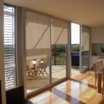 Residential Window Roller Blinds In Melbourne House